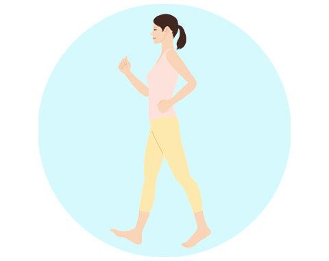 7.歩き方の指導