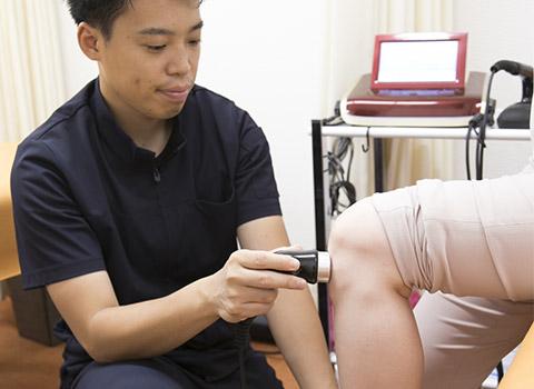 鍼、特殊電気治療(ハイボルテージ)